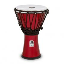 Toca TFCDJ-7MR Freestyle Colorsound Djembe, 7 Zoll, metallic rot