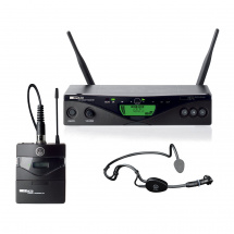 AKG WMS 470 (Band 7: 500-530 MHz) drahtloses Sport-Set Band 7: 500,1-530,5 MHz, Farbe B