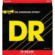 DR Strings MR5-45 Hi-Beam medium, Saitensatz f. 5-saitigen E-Bass