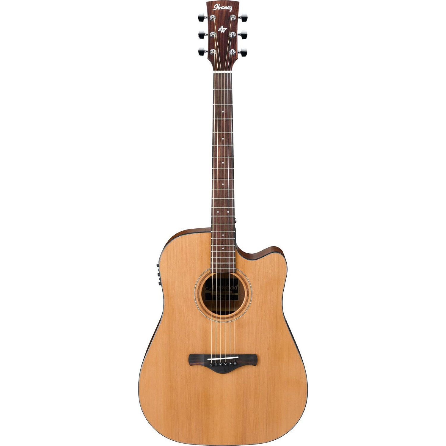 Ibanez AW65ECE Natural Low Gloss