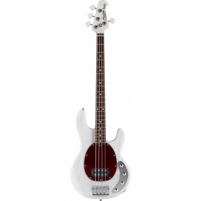 Sterling by Music Man Ray34 Translucent White Blonde Bass