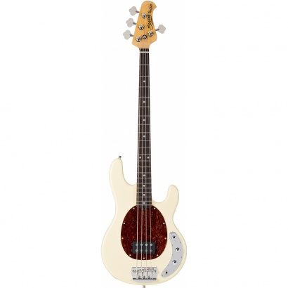Sterling by Music Man Ray34CA E-Bass Classic Active Vintage Cream