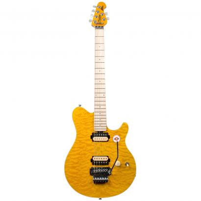Sterling by Music Man AX40D Trans Gold  E-Gitarre