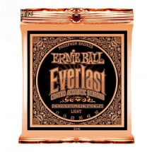 Ernie Ball 2548 Everlast Coated Phosphor Bronze Light Saitenset
