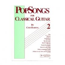 EMC Popsongs for Classical Guitar 2 - Cees Hartog Gitarrenbuch