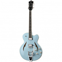 Hofner Verythin Single Cutaway Light Blue
