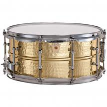 Ludwig LB422BKT 14 x 6,5 Zoll Snare Drum Hammered Brass