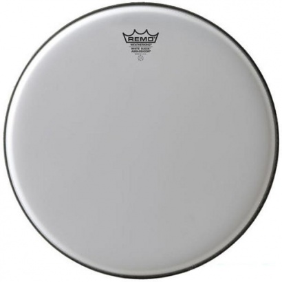 Remo BA-0812-WS Ambassador 12 Zoll White Suede Drumfell