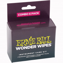 Ernie Ball 4279 Wonder Wipes Combo 6-Pack