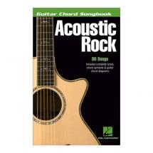 Hal Leonard Acoustic Rock Guitar Chord Songbook (englisch)
