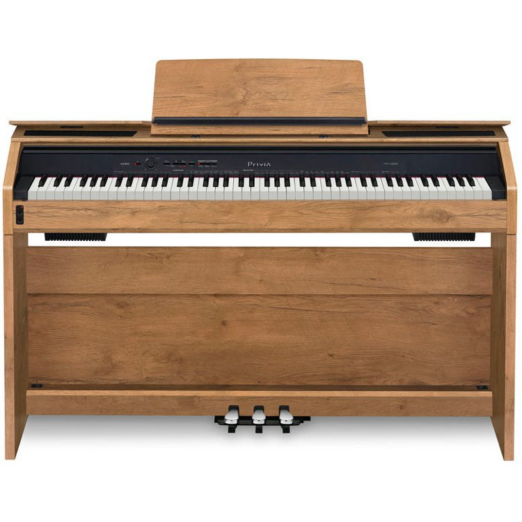 casio privia px a800bn e piano braun kaufen bax shop. Black Bedroom Furniture Sets. Home Design Ideas