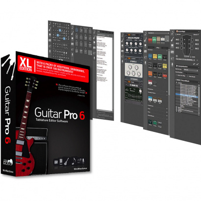 Arobas Music Guitar Pro 6 XL Gitarren-Notationssoftware