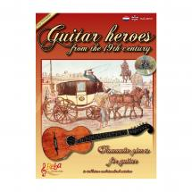 Reba Productions Guitar Heroes from the 19th Century - Songbook (englisch/niederländisch)