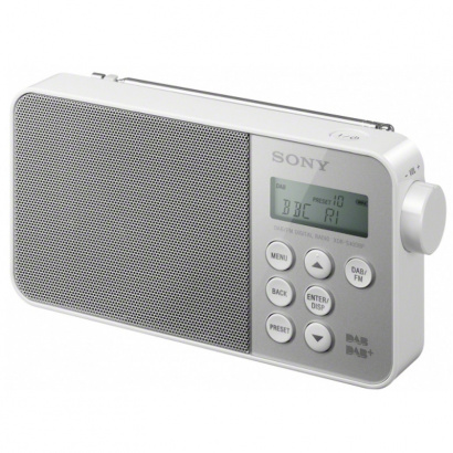 sony xdr s40dbp dab digitales radio wei kaufen bax shop. Black Bedroom Furniture Sets. Home Design Ideas