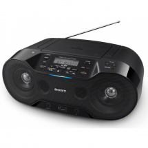 Sony ZS-RS70BTB DAB+ digitales Boombox-Radio