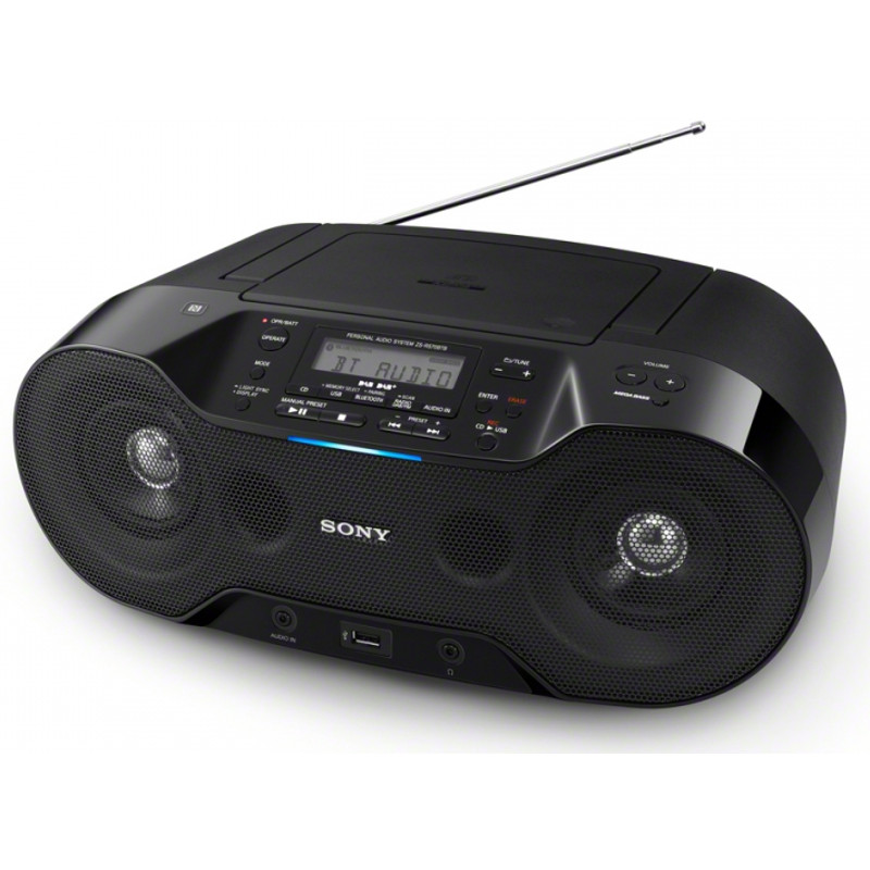 sony zs rs70btb dab digitales boombox radio kaufen bax. Black Bedroom Furniture Sets. Home Design Ideas
