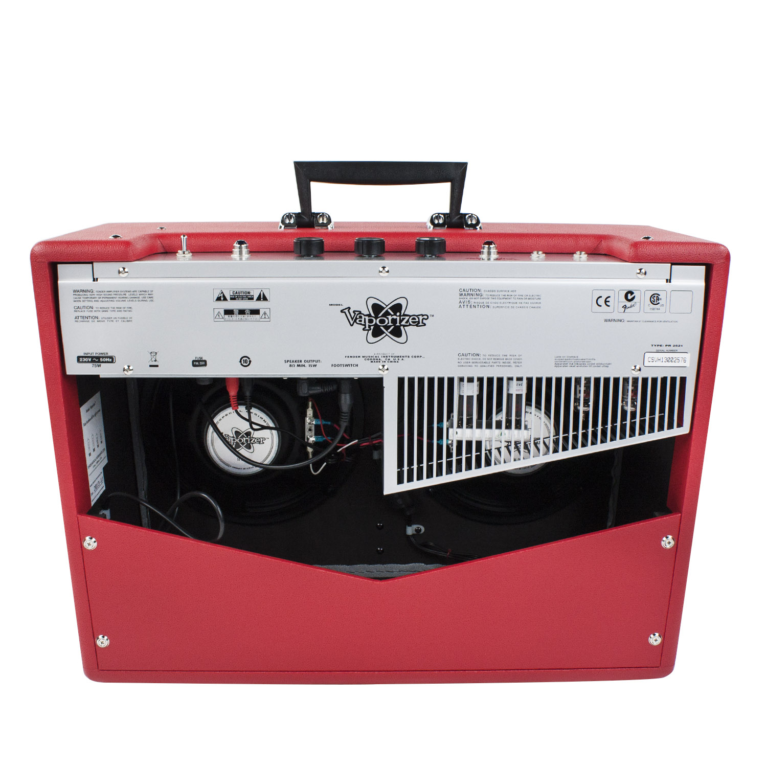 fender vaporizer rocket red 12 w r hren gitarrencombo. Black Bedroom Furniture Sets. Home Design Ideas