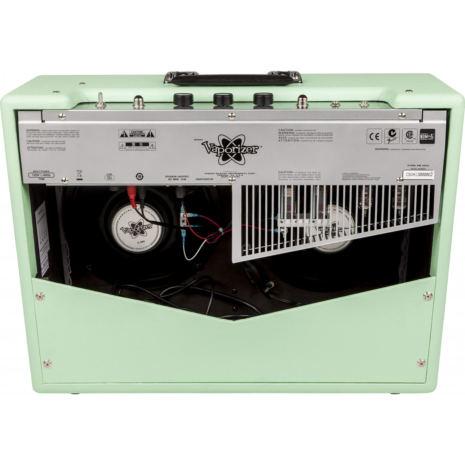 fender vaporizer surf green 12 w r hren gitarrencombo. Black Bedroom Furniture Sets. Home Design Ideas