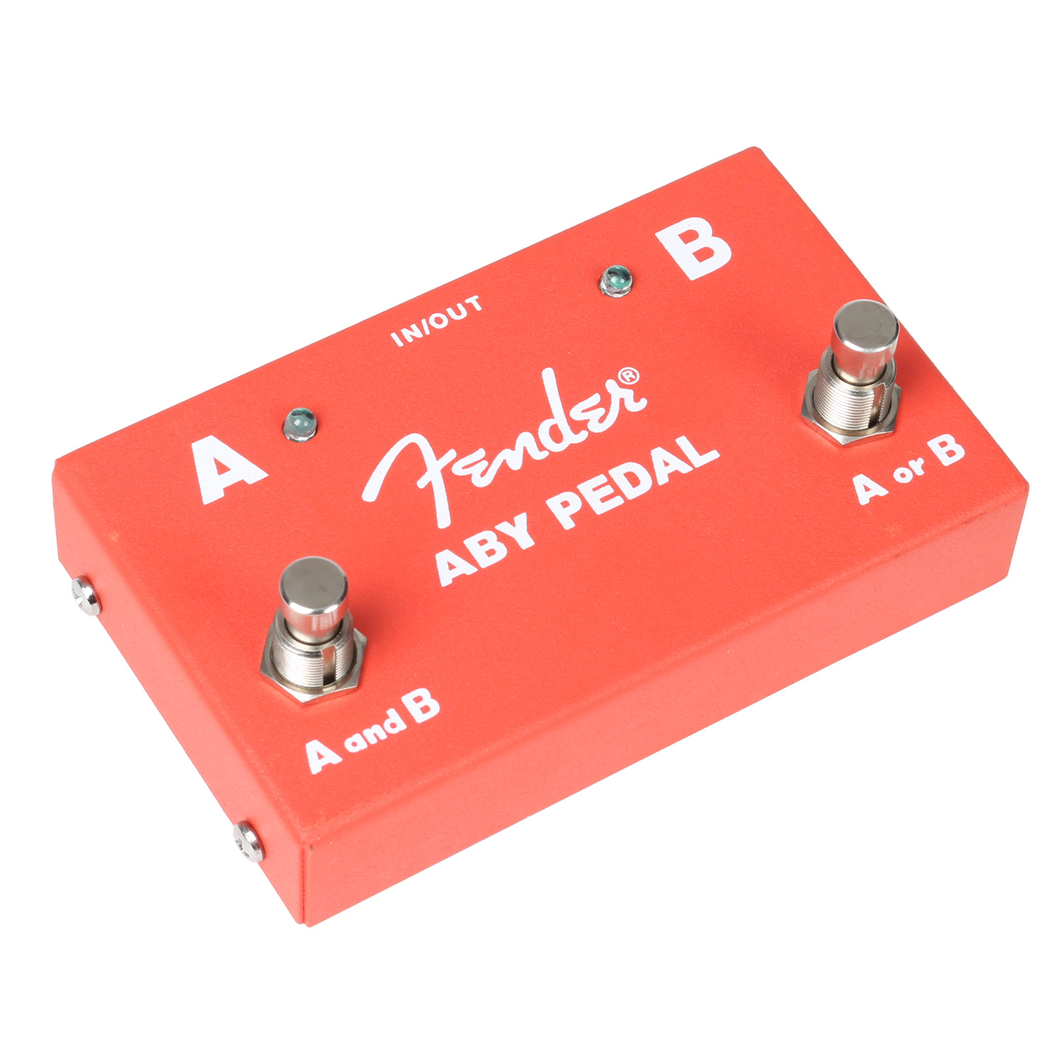 Fender 2 Switch ABY Pedal Passiv Switch