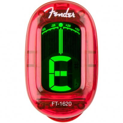 Fender FT-1620 California Clip-On Tuner  Candy Apple Red
