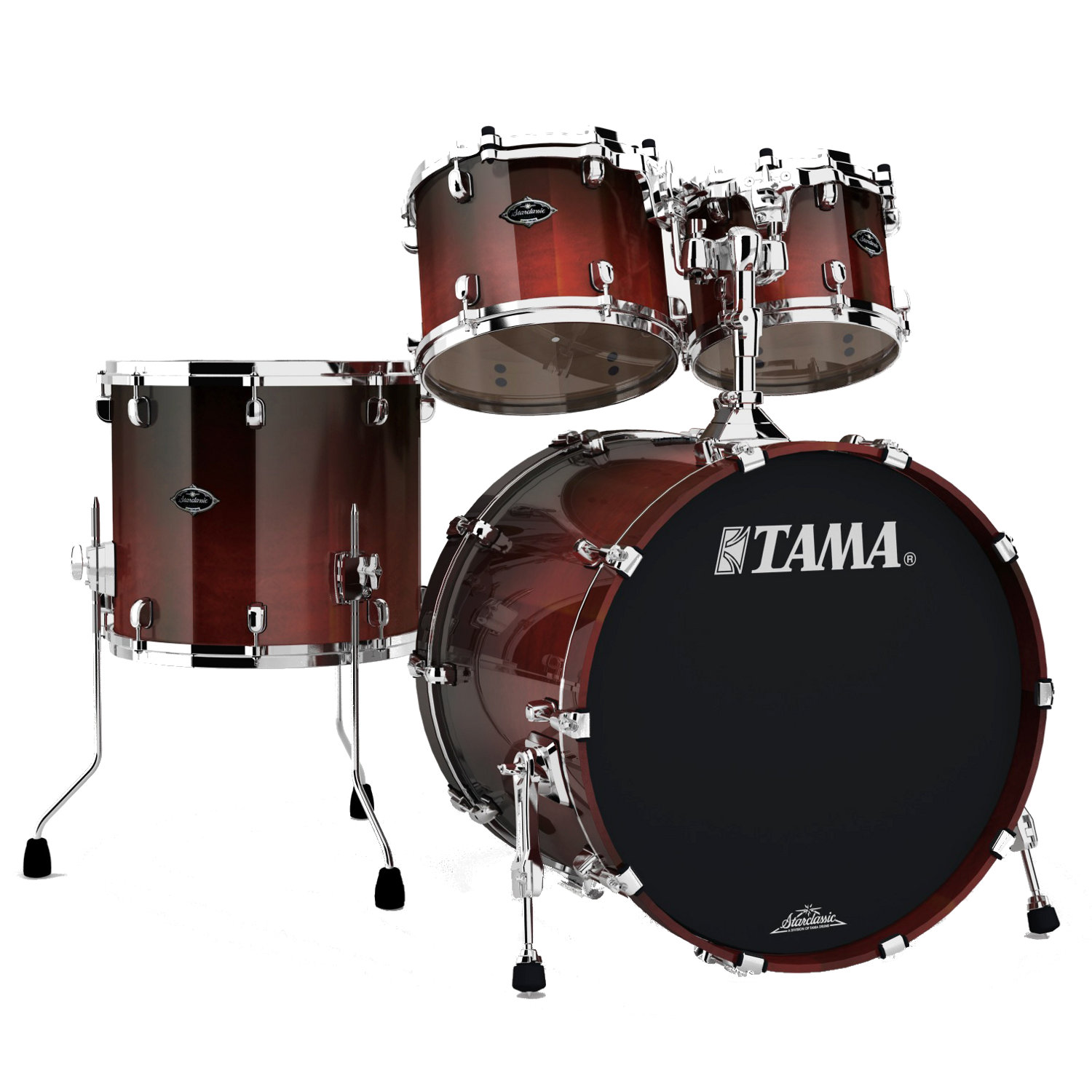 tama pc42s dcf starclassic performer bb dark cherry fade kaufen bax shop. Black Bedroom Furniture Sets. Home Design Ideas