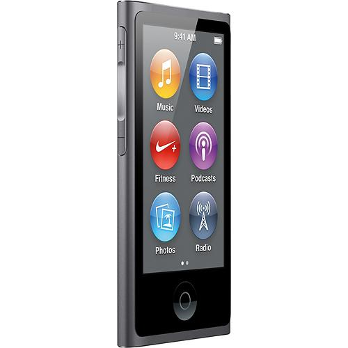 apple mkn52zd a ipod nano 16gb space gray kaufen bax shop. Black Bedroom Furniture Sets. Home Design Ideas