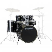 Yamaha JSBP2F5RBL Stage Custom Birch Shellset Raven Black