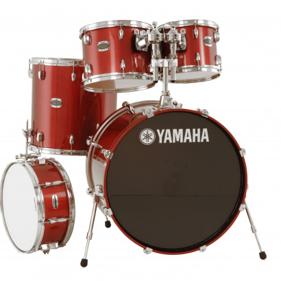 Yamaha JSBP0F5CR Stage Custom Birch Shellset Cranberry Red