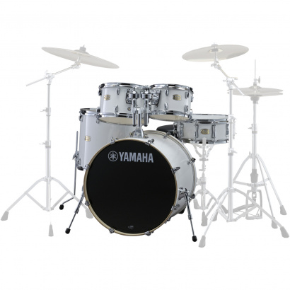 Yamaha JSBP0F5PW Stage Custom Birch Shellset Pure White