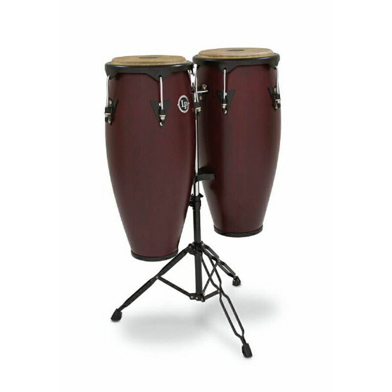 Latin Percussion LP646NY DW City Series Congaset Darkwood