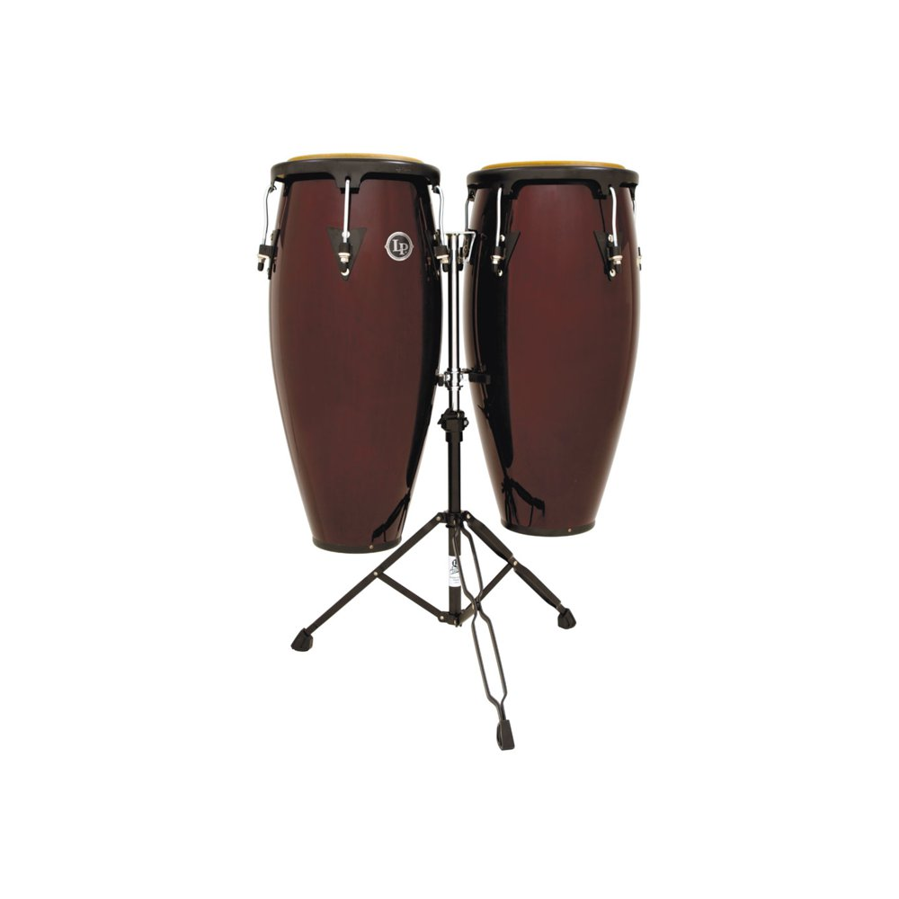 Latin Percussion LP647NY DW City Series Congaset Dark Wood