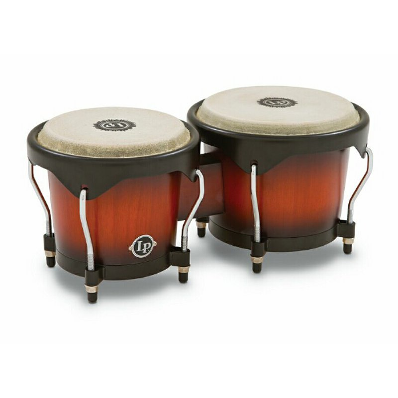Latin Percussion LP601NY VSB City Series Bongo Set Sunburst