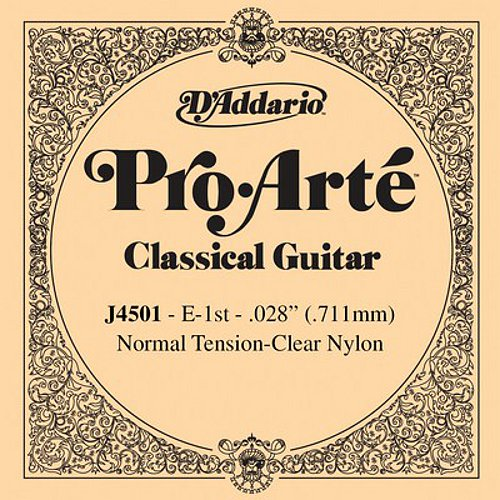 D'Addario J4501 Saite für Konzertgitarre Normal Tension (E1)