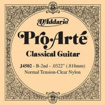 D'Addario J4502 Saite für Konzertgitarre Normal Tension (B2)