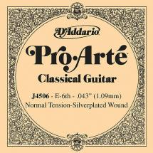 D'Addario J4506 Saite für Konzertgitarre Normal Tension (E6)