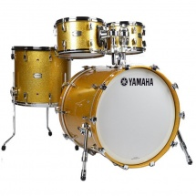 Yamaha 'Absolute Hybrid Maple' Shellset 1, Gold Champagne Sparkle
