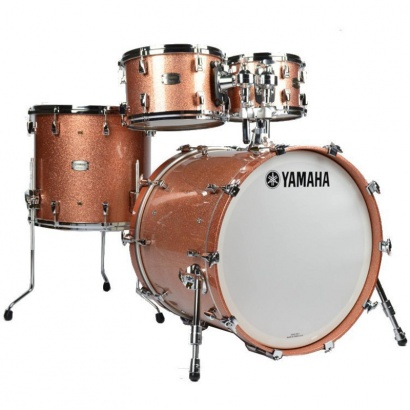 Yamaha Yamaha 'Absolute Hybrid Maple' Shellset 1, Pink Champagne Sparkle