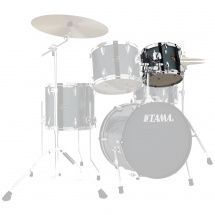 Tama Imperialstar IPT10A-HBK 10  x  8 Zoll Tom Hairline Black