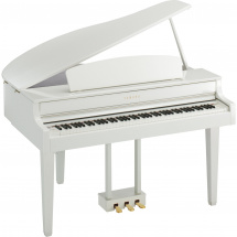 Yamaha CLP-565GPWH digitales Klavier, Polished White