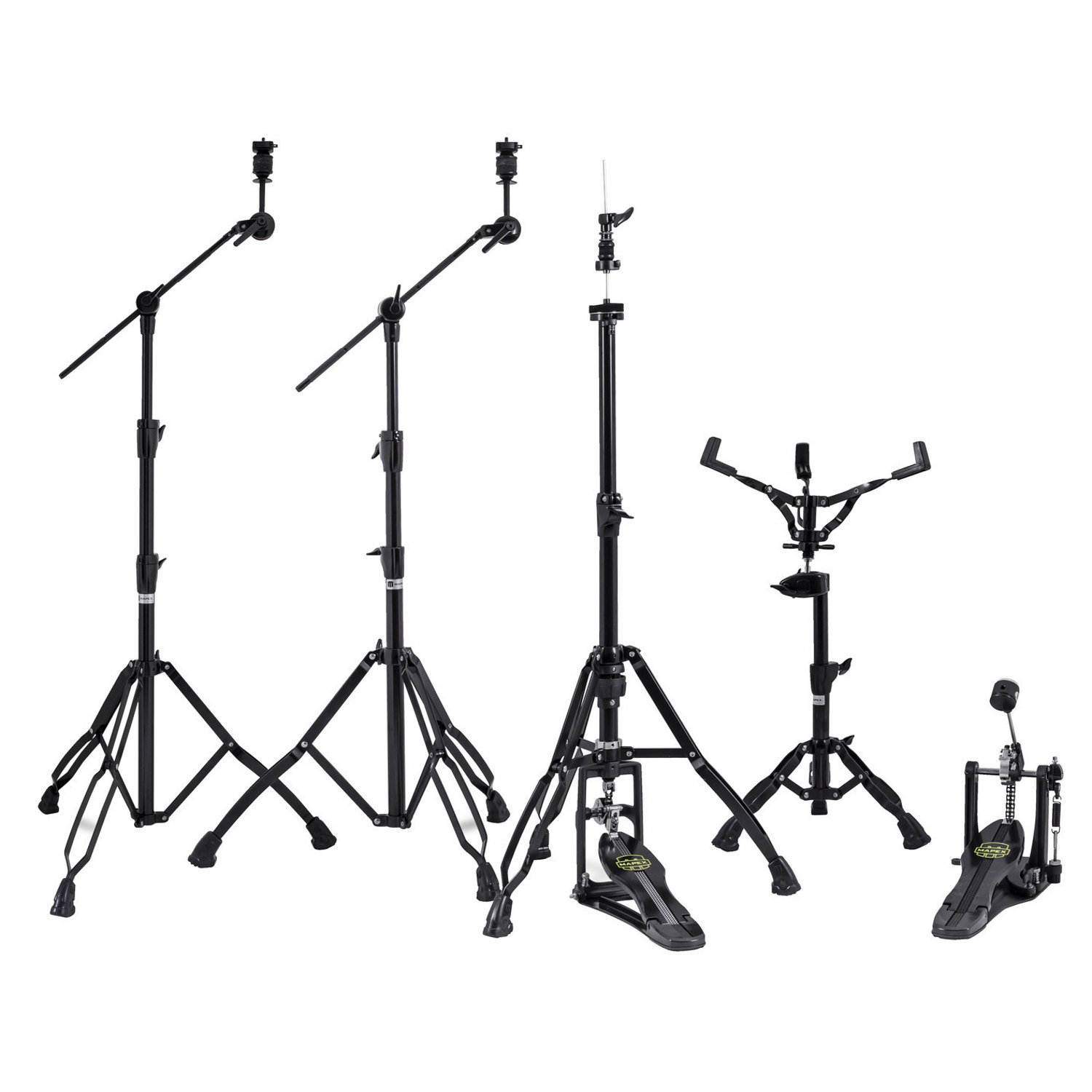 Mapex Armory HP8005EB 5 teiliges Hardware Set, Black Plated